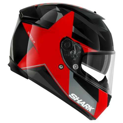 shark speed r series 2 texas helmet size md only revzilla. Black Bedroom Furniture Sets. Home Design Ideas