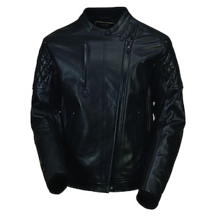 Roland Sands Clash Black Ops Leather Motorcycle Jacket