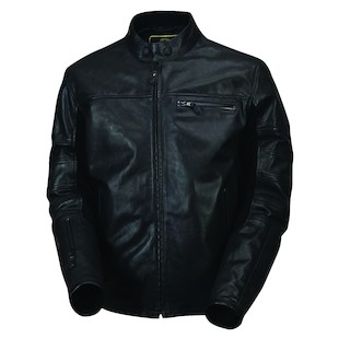 Roland Sands Ronin Black Ops Leather Motorcycle Jacket