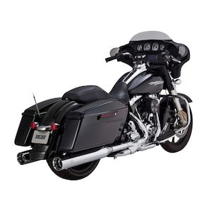 "Vance & Hines 4 1/2"" Titan Oversized Slip-On Mufflers For Harley Touring 1995-2016"