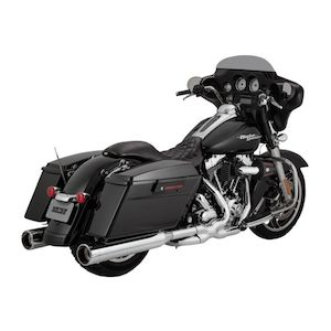 "Vance & Hines 4 1/2"" Raider Oversized Slip-On Mufflers For Harley Touring 1995-2016"