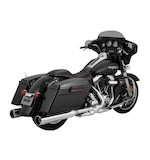 "Vance & Hines Raider Oversized 4 1/2"" Slip-On Mufflers For Harley Touring 1995-2016"