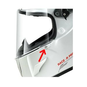 Shark Race-R Pro / Speed-R Visor Blocking Pawn