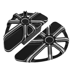 Arlen Ness 10-Gauge Passenger Floorboards For Harley 1993-2018