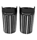 Arlen Ness 10-Gauge Fork Boot Covers For Harley Touring 1986-2013