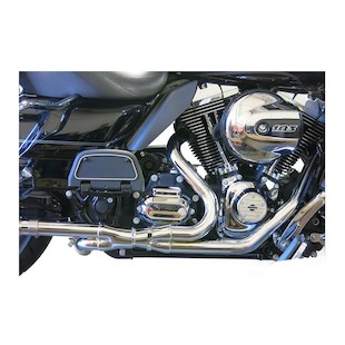 Bassani 2x2 Dual Head Pipes For Harley Touring 2009-2016