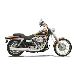 Bassani Road Rage 2-Into-1 Exhaust For Harley Dyna 1991-2005