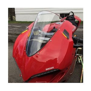 New Rage Cycles Mirror Block Off LED Turn Signals Ducati 959 Panigale