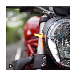 New Rage Cycles LED Front Turn Signals Ducati Monster 1100 2009-2010