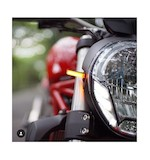 New Rage Cycles LED Front Turn Signals Ducati Monster 1200 2014-2016
