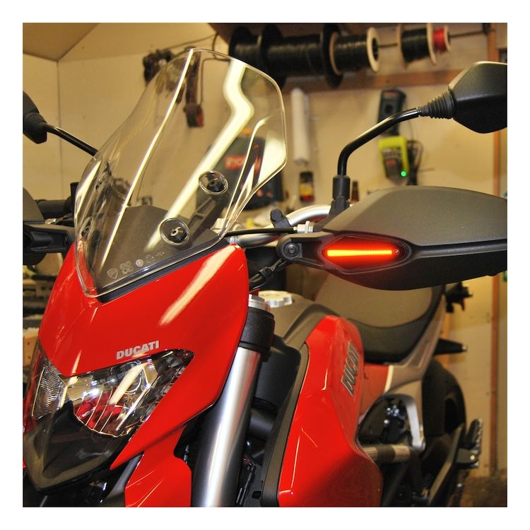 New Rage Cycles LED Blackout Turn Signals Ducati Hypermotard / Hyperstrada