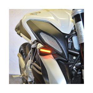 New Rage Cycles LED Front Turn Signals MV Agusta Brutale 675 / 800 / Dragster