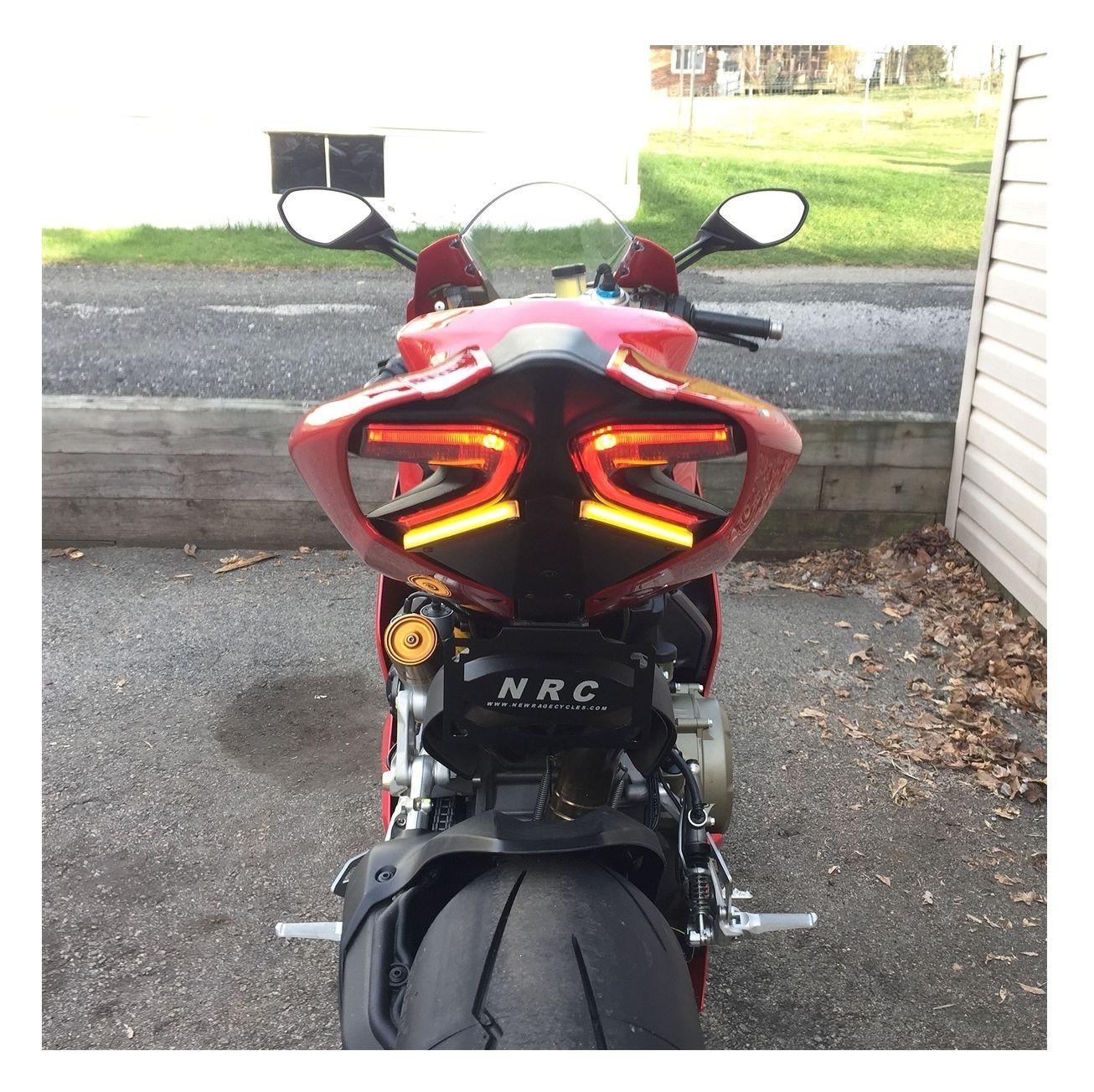 New Rage Cycles Led Fender Eliminator Ducati 1299 Panigale Revzilla Ducati  848 Ecu Wiring Diagram Ducati 1299s Wiring Diagram
