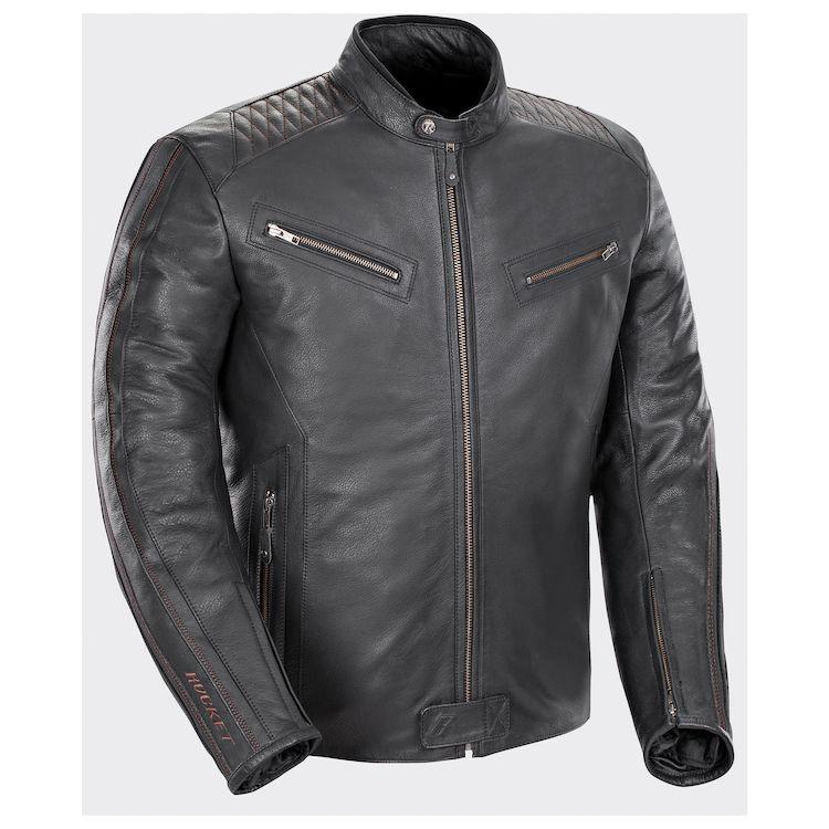 Joe Rocket 'Vintage' Leather Racing Jacket