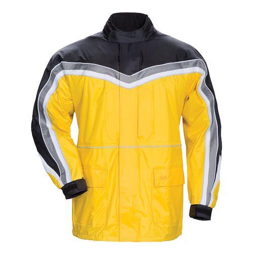 Tour master elite series ii rain jacket revzilla for Motor cycle rain gear