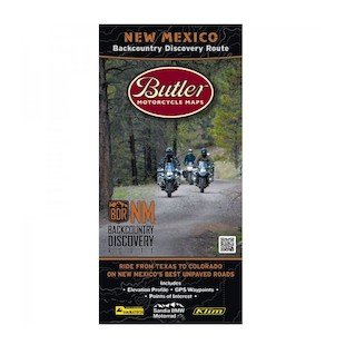 Butler Maps New Mexico Backcountry Discovery Route
