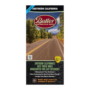 Butler Maps Southern California