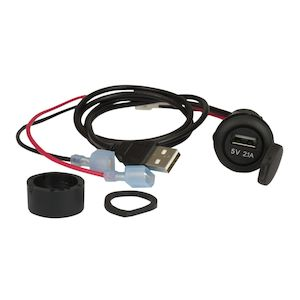 Jensen USB Input Jack For Harley Touring