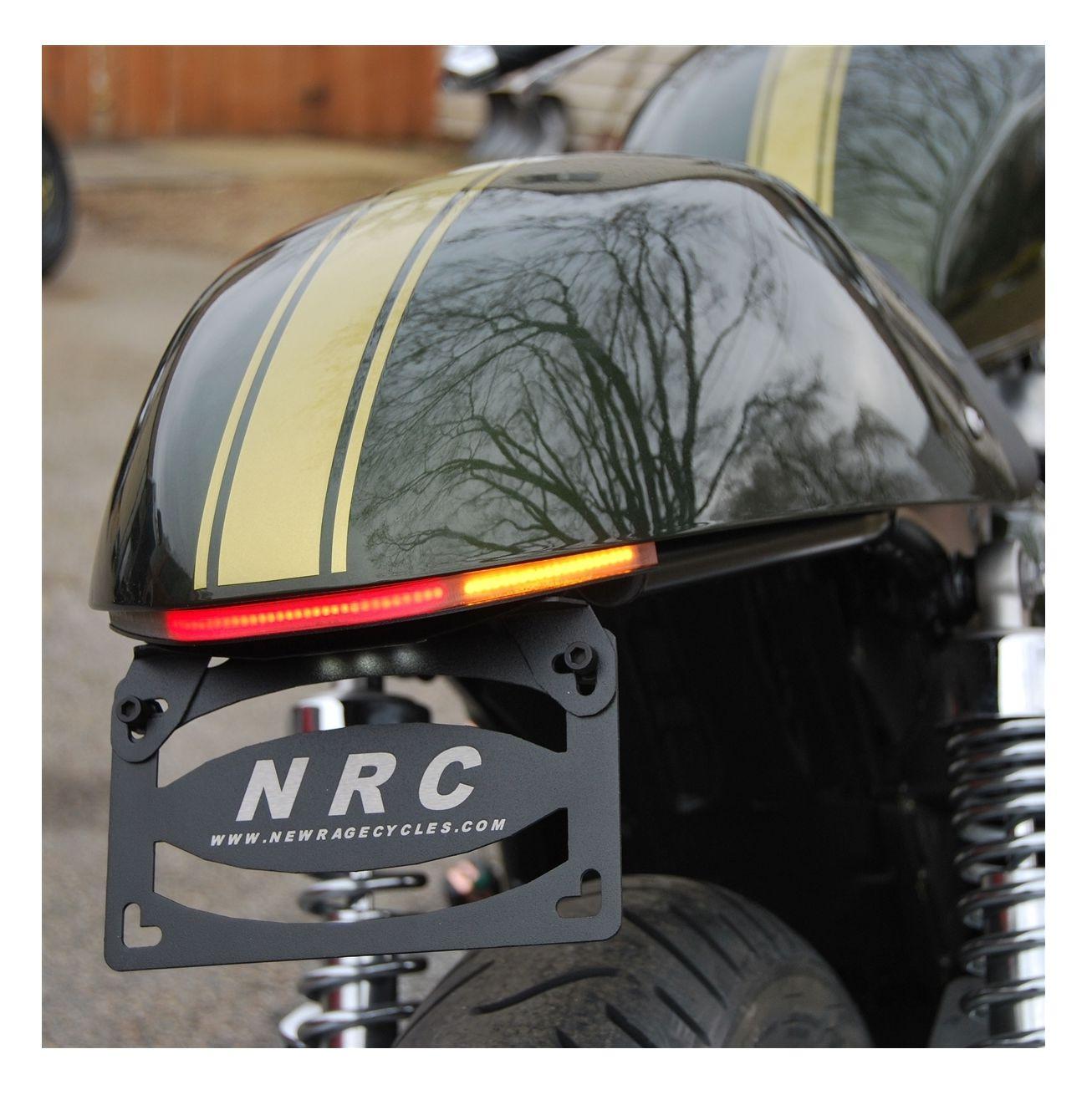 New Rage Cycles Led Fender Eliminator Triumph Thruxton 900 2009 2016 Wiring Schematic Revzilla