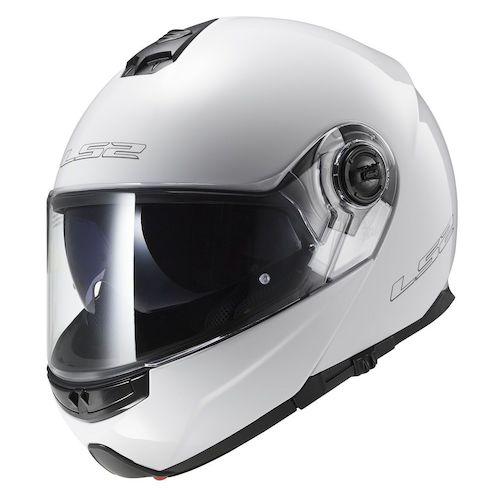 ls2 strobe helmet - solid - revzilla