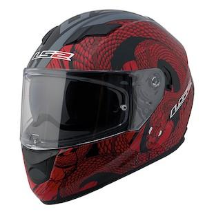 LS2 Stream Snake Helmet