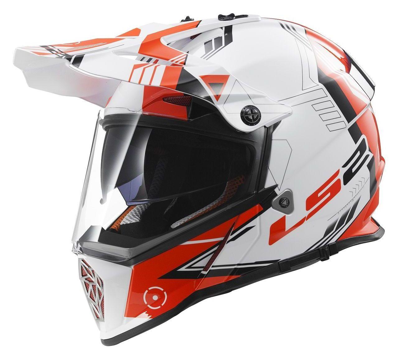 Honda Dual Sport Helmet >> LS2 Pioneer Trigger Helmet | 38% ($60.00) Off! - RevZilla