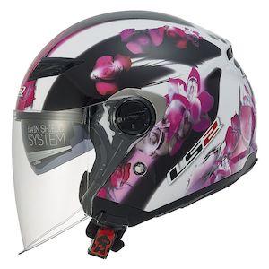 LS2 OF569 Track Floral Helmet