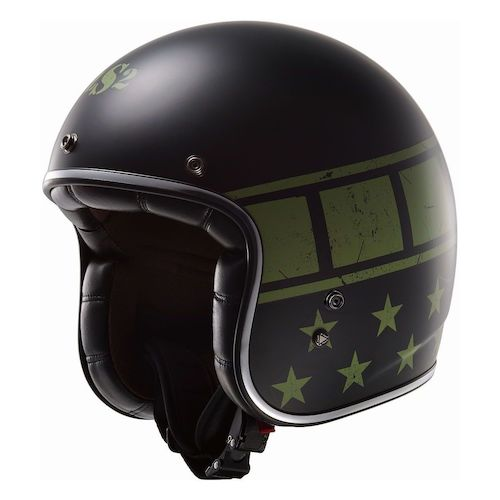 LS2 Bobber Kurt Military Helmet