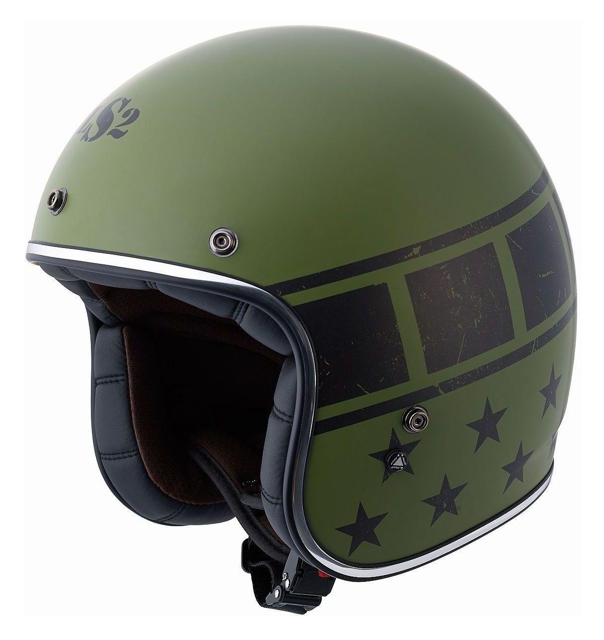LS2 Bobber Kurt Military Helmet (Size LG Only)