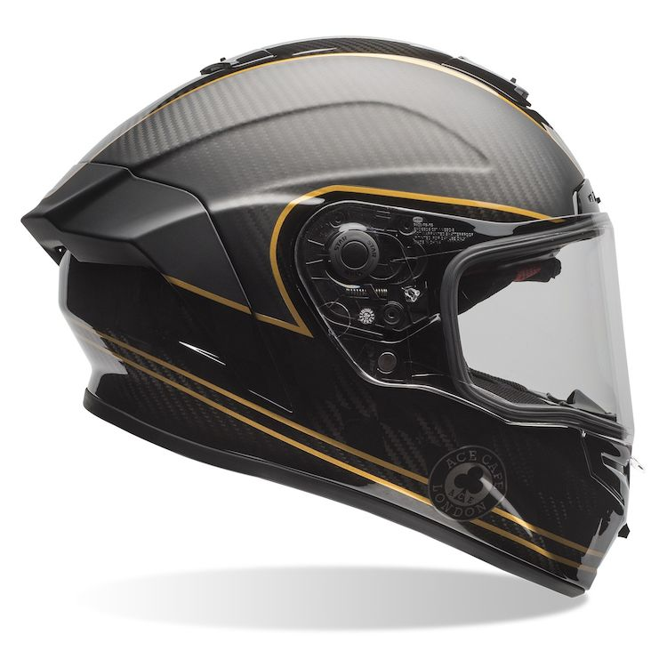 bell race star ace cafe speed check helmet revzilla. Black Bedroom Furniture Sets. Home Design Ideas