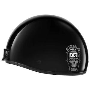 Black Brand Cheater .50 Helmet
