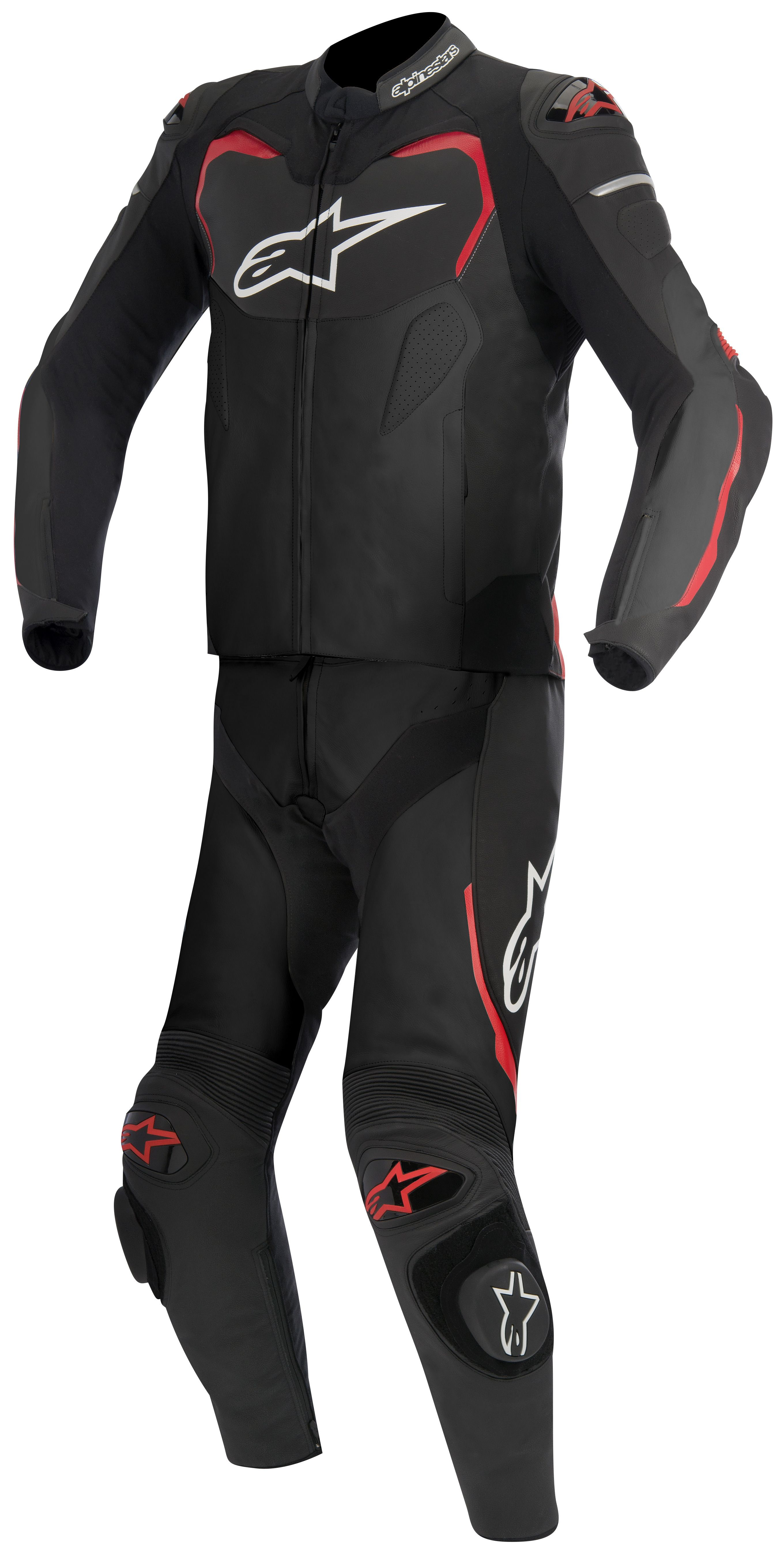alpinestars gp pro 2 piece leather suit revzilla. Black Bedroom Furniture Sets. Home Design Ideas