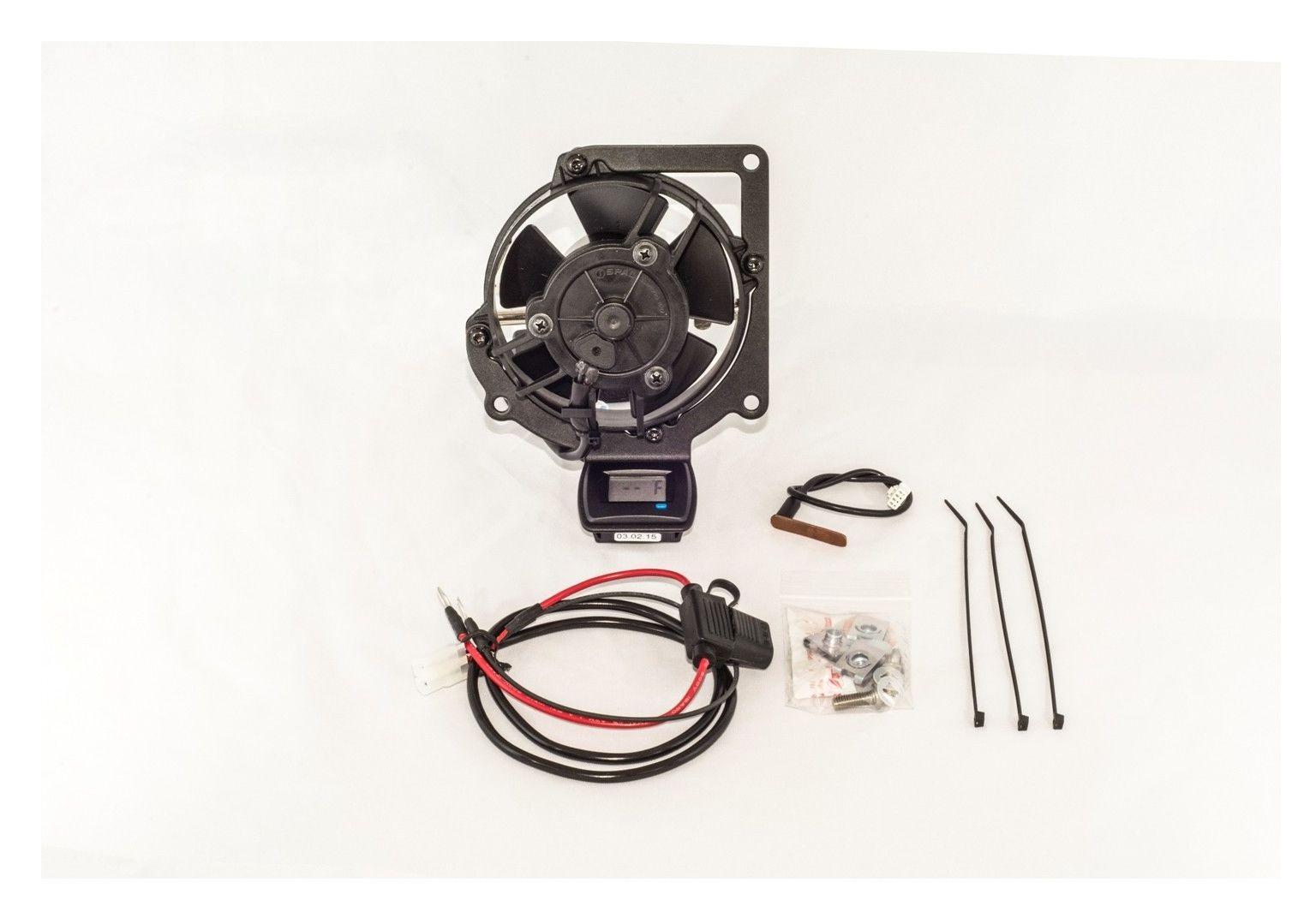 Trail Tech Radiator Fan Kit Yamaha Yz250fx Yz450fx 2015