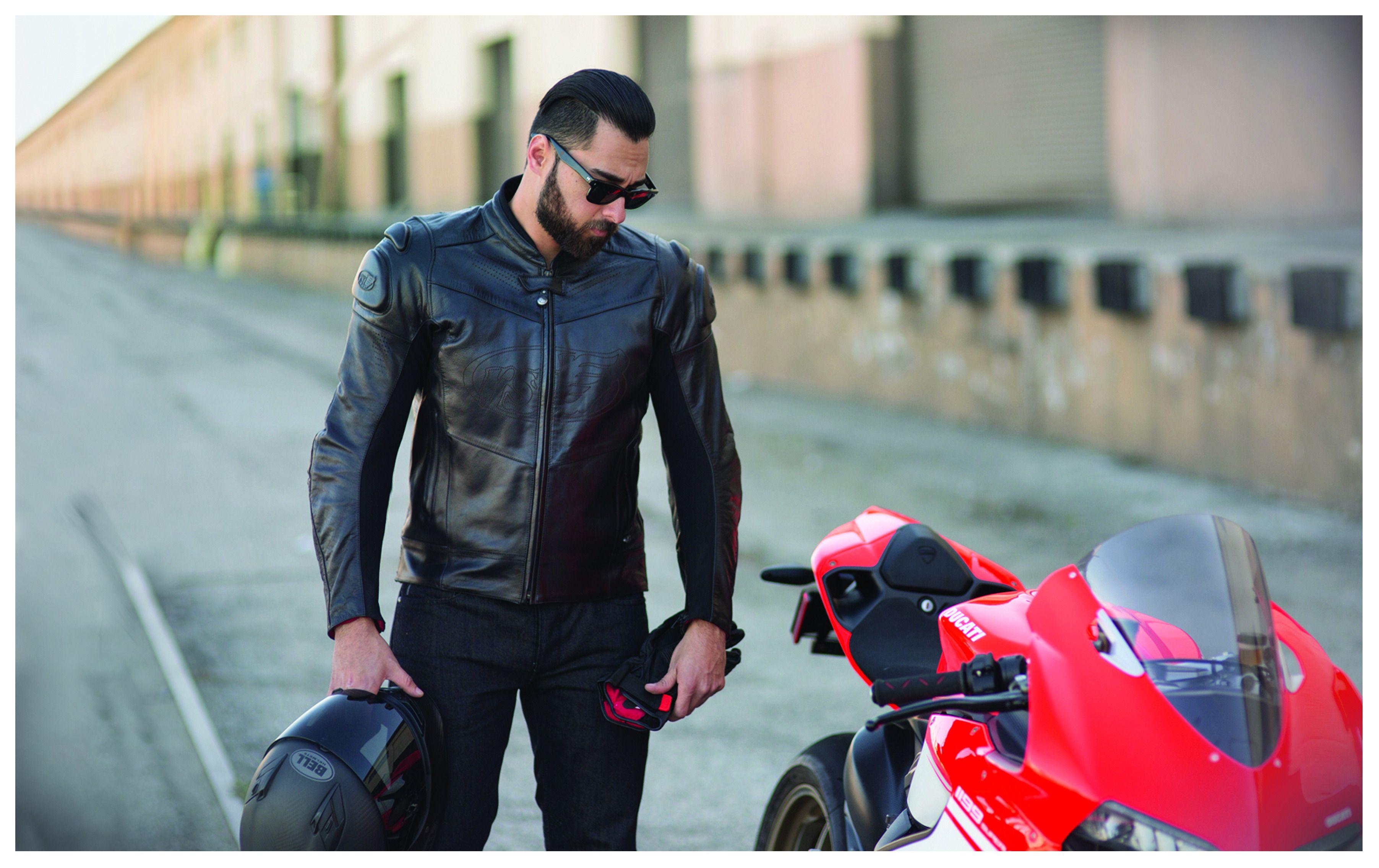 9b9cfe0cb Roland Sands Zuma Leather Jacket