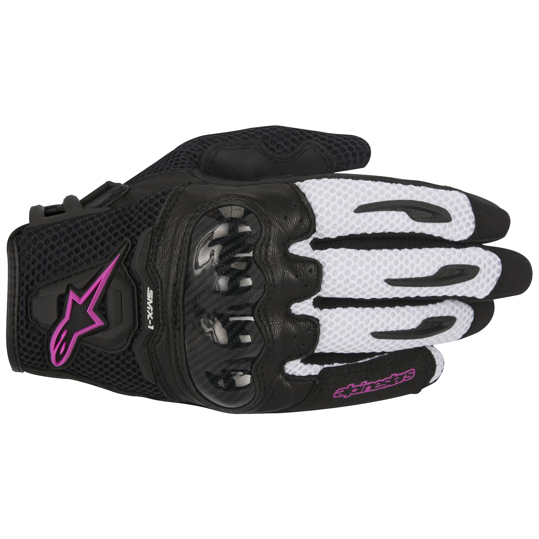 Alpinestars SMX-1 Air V2 Leather//Textile Riding Gloves Pick Size Black//Yellow