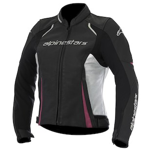Alpinestars Stella Devon Leather Motorcycle Jacket