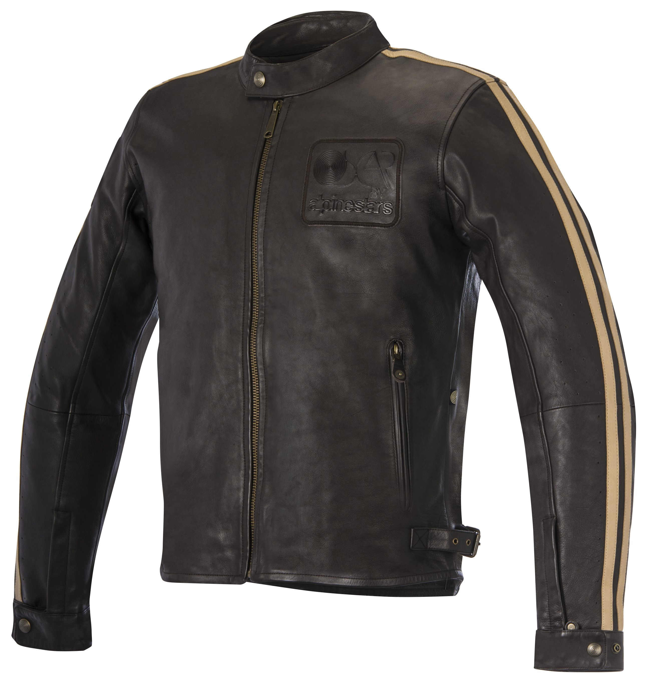 Alpinestars Leather Jacket >> Alpinestars Oscar Charlie Leather Jacket Revzilla