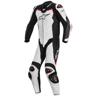 Alpinestars GP Pro Leather Tech-Air Motorcycle Race Suit (Front)
