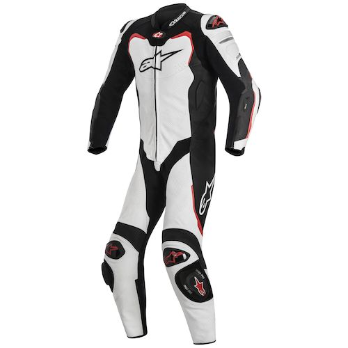 alpinestars gp pro leather race suit for tech air revzilla. Black Bedroom Furniture Sets. Home Design Ideas
