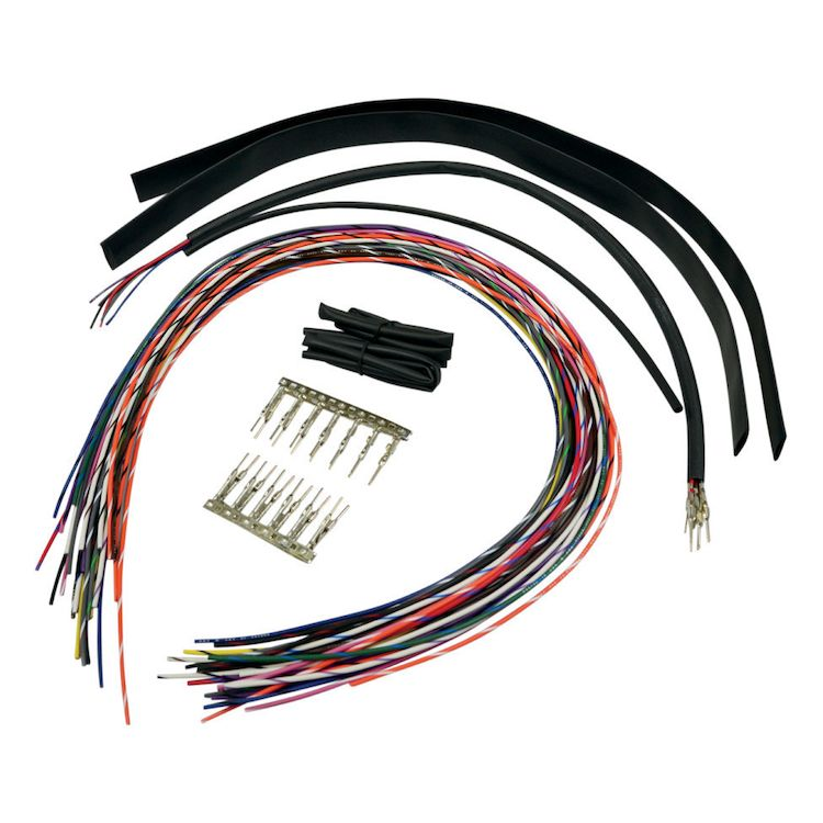 LA Choppers Handlebar Extension Wiring Kit For Harley | 10 ... on