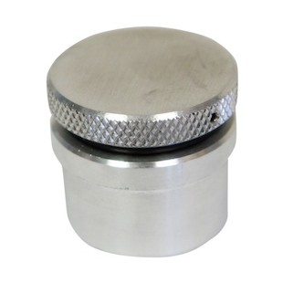 LA Choppers Vented Raw Gas Cap With Weld In Bung