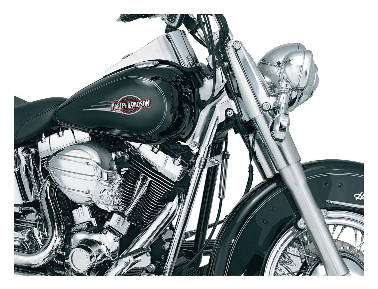 Chrome Frame Inserts for Harley Heritage Softail 2008-2017
