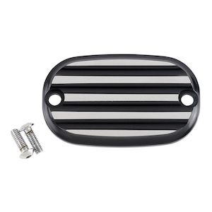 Joker Machine Finned Rear Master Cylinder Cover For Harley Big Twin 1999-2017