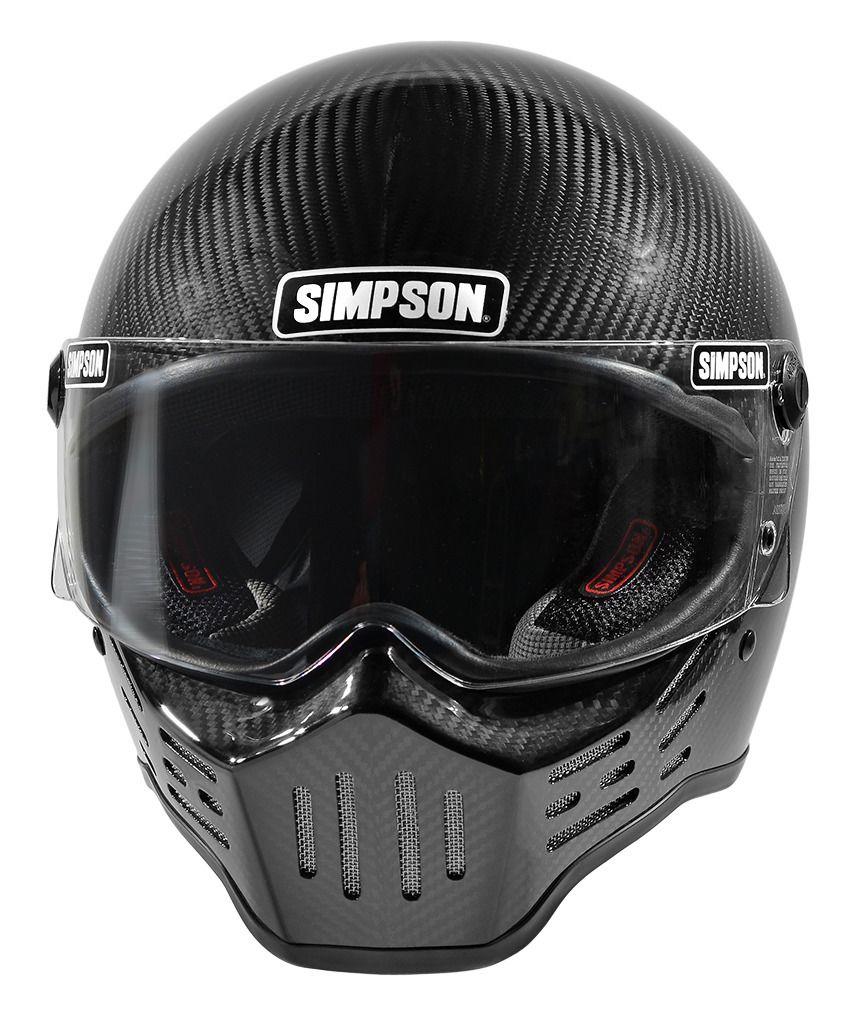 Carbon Fiber Motorcycle Helmets >> Simpson M30 Bandit Carbon Helmet - RevZilla