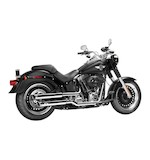 "MagnaFlow Legacy 3"" Slip-On Mufflers For Harley Softail 2005-2016"
