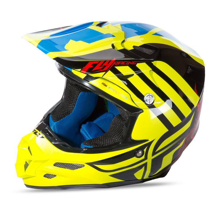 Hi-Viz Yellow/Red/Blue