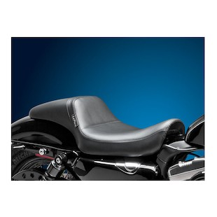 Le Pera Daytona Sport Daddy Long Legs Seat For Harley Sportster With 4.5 Gallon Tank 2004-2017
