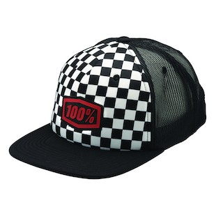 100% Youth Checkers Hat