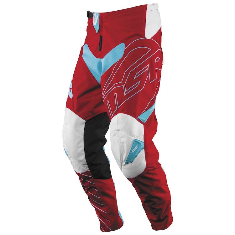 Red/Teal/White