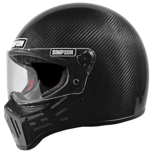 Simpson M30 Bandit Carbon Helmet Revzilla